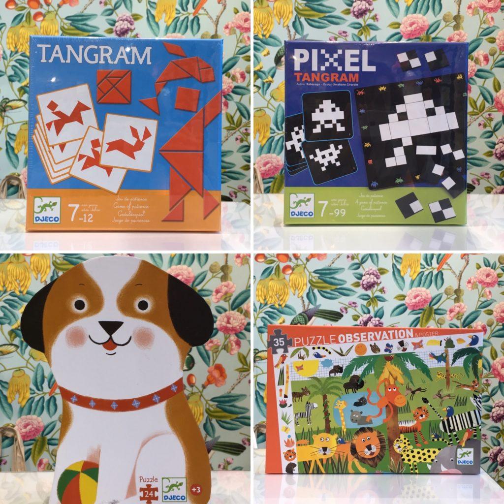 nouveaux puzzle et jeux Djeco